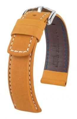 Hirsch Mariner - golden brown - leather strap