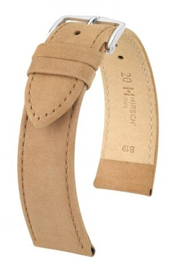Hirsch Osiris - beige - leather strap