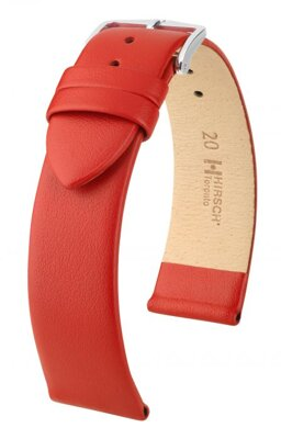 Hirsch Toronto - red - leather strap