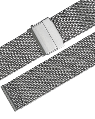 Stalux Milanaise - mesh - 22mm - stainless steel