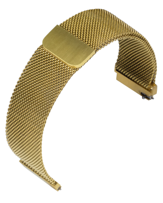 Stalux Milanaise - mesh - 20mm - gold