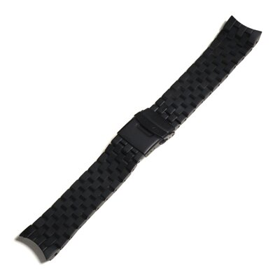 Steinhart Stainless steel bracelet for Triton 100 ATM - Black DLC