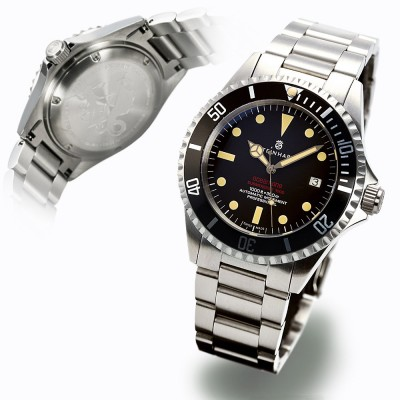 Steinhart OCEAN One VINTAGE Red/ New