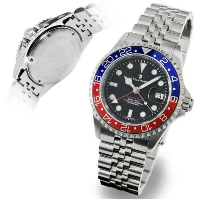 Steinhart GMT-OCEAN 1 BLUE RED.2