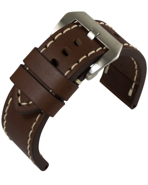 Barington - Aeronautica - dark brown - leather strap
