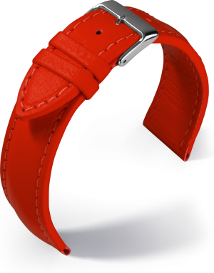 Barington - Aqua-chrono - red - textile strap