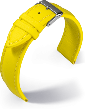 Barington - Aqua-chrono - yellow - textile strap