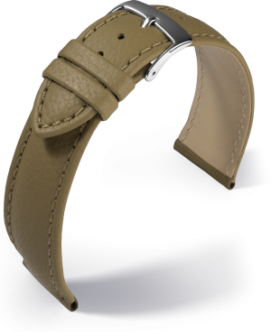 Barington - Fancy classic - taupe - leather strap