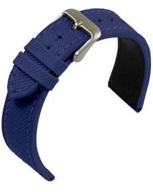 Eulit - Canvas- blue - textile strap