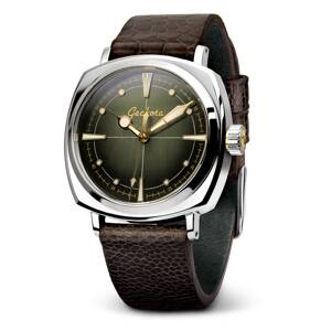 Geckota G-01 - Vintage Style Automatic Diver's Watch - olive green