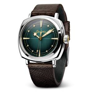 Geckota G-01 - Vintage Style Automatic Diver's Watch - teal