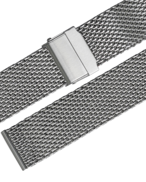 Stalux Milanaise - mesh - 18mm - stainless steel