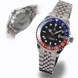 Steinhart Ocean 39 GMT blue-red ceramic